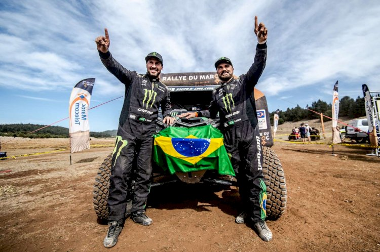 Dupla brasileira larga para o Dakar 2020 de olho no bicampeonato
