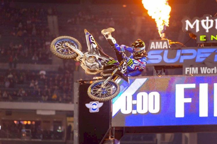Justin Barcia vence abertura do AMA Supercross