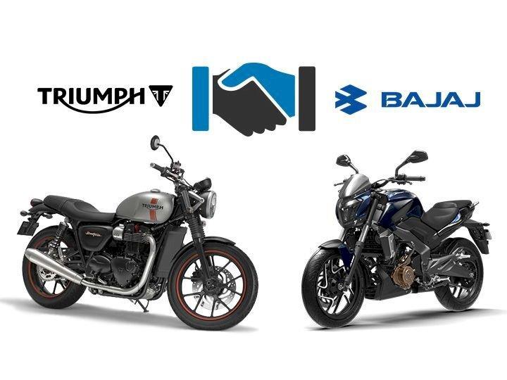Começa a parceria global entre Triumph e Bajaj