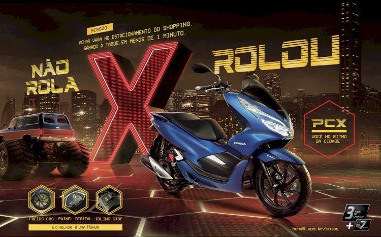Honda Motos recorre ao universo dos games