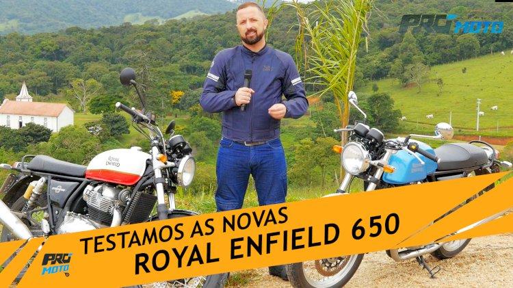 Novas Royal Enfield chegam ao Brasil