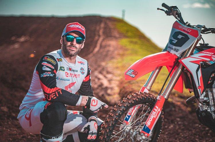 Alex Salvini representa Borilli Racing no mundial de Enduro