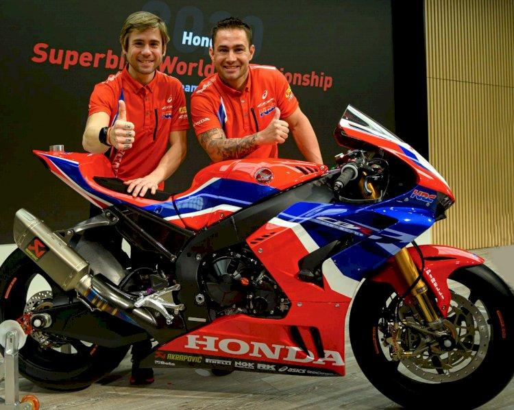 Honda apresenta equipe para o Mundial de Superbike