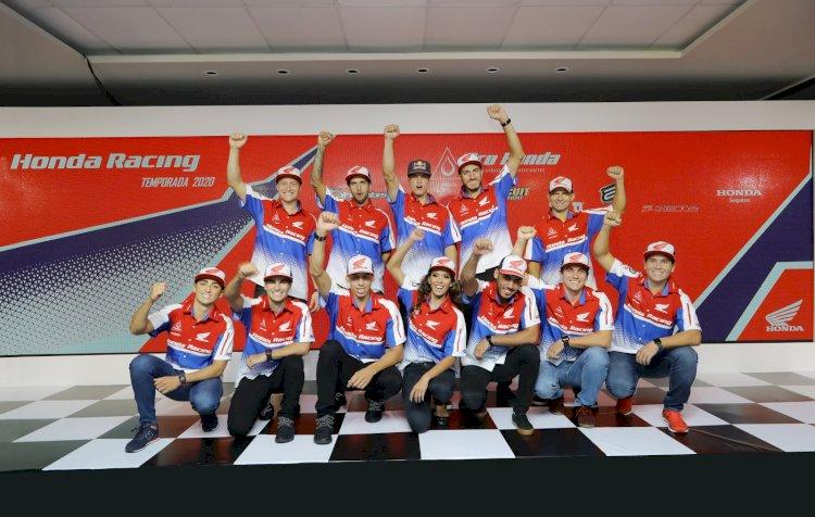 Honda Racing divulga equipes e estratégias para 2020 no Brasil