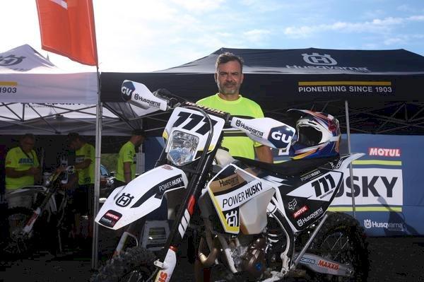 Bianchini Rally vai de Husqvarna em 2020