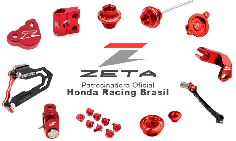 Zeta patrocina equipe Honda no MX em 2020